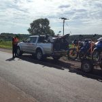 La Policía retuvo más de 70 licencias de conducir, 43 motos y detuvo a cinco conductores ebrios