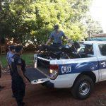 Recuperan una motocicleta robada y buscan al presunto autor