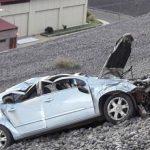 Familia misionera quedó en grave estado tras caer por la ladera del dique de Casa de Piedra en Neuquén