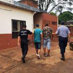 Cayeron dos hermanos acusados de atemorizar a vecinos del kilómetro Cero en Oberá