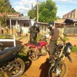La Policía secuestró una motocicleta y busca a un hombre que se dio a la fuga