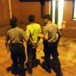 Un joven ocasionó disturbios en estado de ebriedad y fue detenido por la Policía