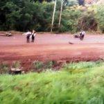 Adolescente falleció tras el despiste de una motocicleta en la ruta 2