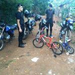 La policía recuperó dos bicicletas robadas y busca a los autores