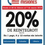 Desde el 26 de febrero, Ahora Misiones Escolar