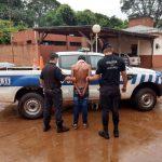 Sujeto con frondoso prontuario fue detenido por el hurto de un teléfono celular
