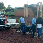 Operativo Integral  de Seguridad: recuperan una motocicleta robada y detienen a un hombre con frondoso prontuario