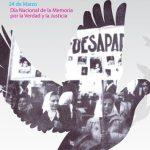 Acto Día Nacional de la Memoria, por la Verdad y la Justicia