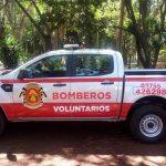Bomberos voluntarios presentaron sus nuevas unidades