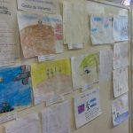 Ganadores exponen dibujos y poesías en la casa de la Cultura
