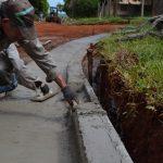Realizan obras en Oberá a través de programa de emergencia laboral
