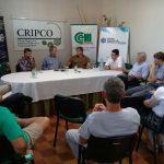 Reunion en la CRIPCO con vecinos por obras céntricas