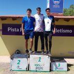 El obereño Gastón Benítez campeón U18 de salto en alto