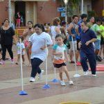 Mini atletismo y actividades adaptadas en la última fecha del Gran Prix Nocturno