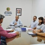 Reunión con integrantes de la Feria Franca de Oberá