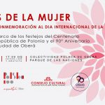 Eventos en el Parque de las Naciones por el Día de la Mujer