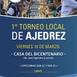 Torneo local de Ajedrez