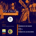 Este domingo no te pierdas el Vía Crucis de las Colectividades