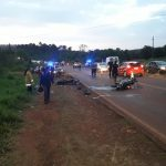 Siniestro vial en la ruta 103, dejó  un hombre fallecido y dos lesionados de gravedad