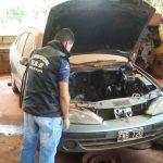 Investigan la presunta adulteración de un vehículo en un taller mecánico de Oberá
