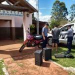 La Policía recuperó elementos robados y detuvo al presunto autor en Panambí