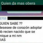 Menor que ofreció en adopción a su hijo estaba desbordada