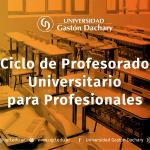 Profesorado para Profesionales en la UGD