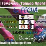 Fútbol Femenino- En Campo Viera se juega la 4ta fecha