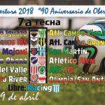 7a fecha con Clásico en el Alto Uruguay
