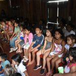 Los niños del Km 0 disfrutaron del cine