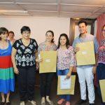 """La Feria Provincial del Libro entregó los premios del concurso """"Ceramistas"""""""