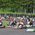 Karting: Espectáculo a pleno en la capital del Monte