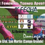 Fútbol Femenino- La 2da sale en Campo Grande