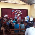 La Policía Comunitaria de Oberá brindó una charla en un  campamento religioso en Alvear