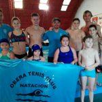 Destacada participación de nadadores obereños