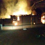 Un incendio dejó como saldo daños materiales en un secadero de Campo Viera