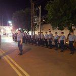 Intensifican la prevención con la presencia de cadetes