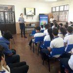 La Policía intensifica las charlas  en colegios de Oberá para prevenir la violencia
