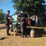 Un sujeto con frondoso prontuario cayó por el robo de una garrafa en Oberá