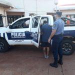Joven con frondoso prontuario fue detenido por un robo en Oberá