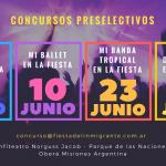 Preselectivos: Sigue abierta la inscripción de ballets y bandas