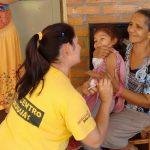 Comenzó el primer operativo contra el sarampión en los Nenis de Oberá