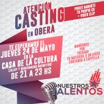Casting de Nuestros Talentos en Oberá