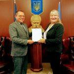 Presidente de la Colectividad Ucraniana visitó la Embajada