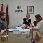 Firma de convenio entre la Municipalidad y Salud Pública