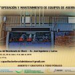 Curso de Operación y Mantenimiento de Equipos de Aserrado