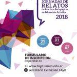 XI Jornadas de relatos en prácticas pedagógicas en Educación Artística