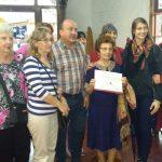 El Concejo Deliberante otorgó Diploma al Mérito a Zenona Arciuch de Zabczuk