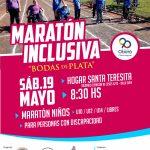 Maratón inclusiva por el aniversario del Hogar Santa Teresa