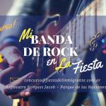 """Este sábado 26 todos al Parque para presenciar """"Mi Banda de Rock en la Fiesta"""""""